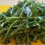 春菊は食べると風邪の予防薬になる?効果的な食べ方は加熱時間は短め?