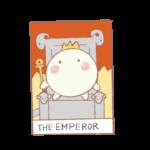 タロットカードno.4「皇帝」の正位置・逆位置での意味と解釈の仕方
