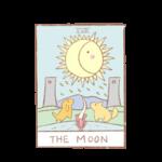 タロットカードno.18「月」の正位置・逆位置の意味と解釈の仕方