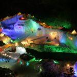 回層雲峡温泉氷瀑まつり2019!花火の日程・おすすめの食べ物・ホテル等