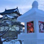 弘前城雪燈籠まつり2019!日程・花火が上がる日・アクセス方法をご紹介